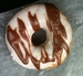 Caption: Marble donut from Serres Donut Shop in Syracuse, NY, Credit: Anna O. Grant