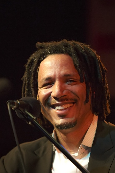 Caption: NBA star Brian Grant, Credit: Jennie Baker for Live Wire!