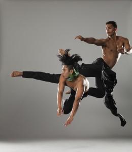 Caption: New Zealand contemporary dance troupe Black Grace. (Artistic Direction: Neil Ieremia; , Credit: Photography: Duncan Cole