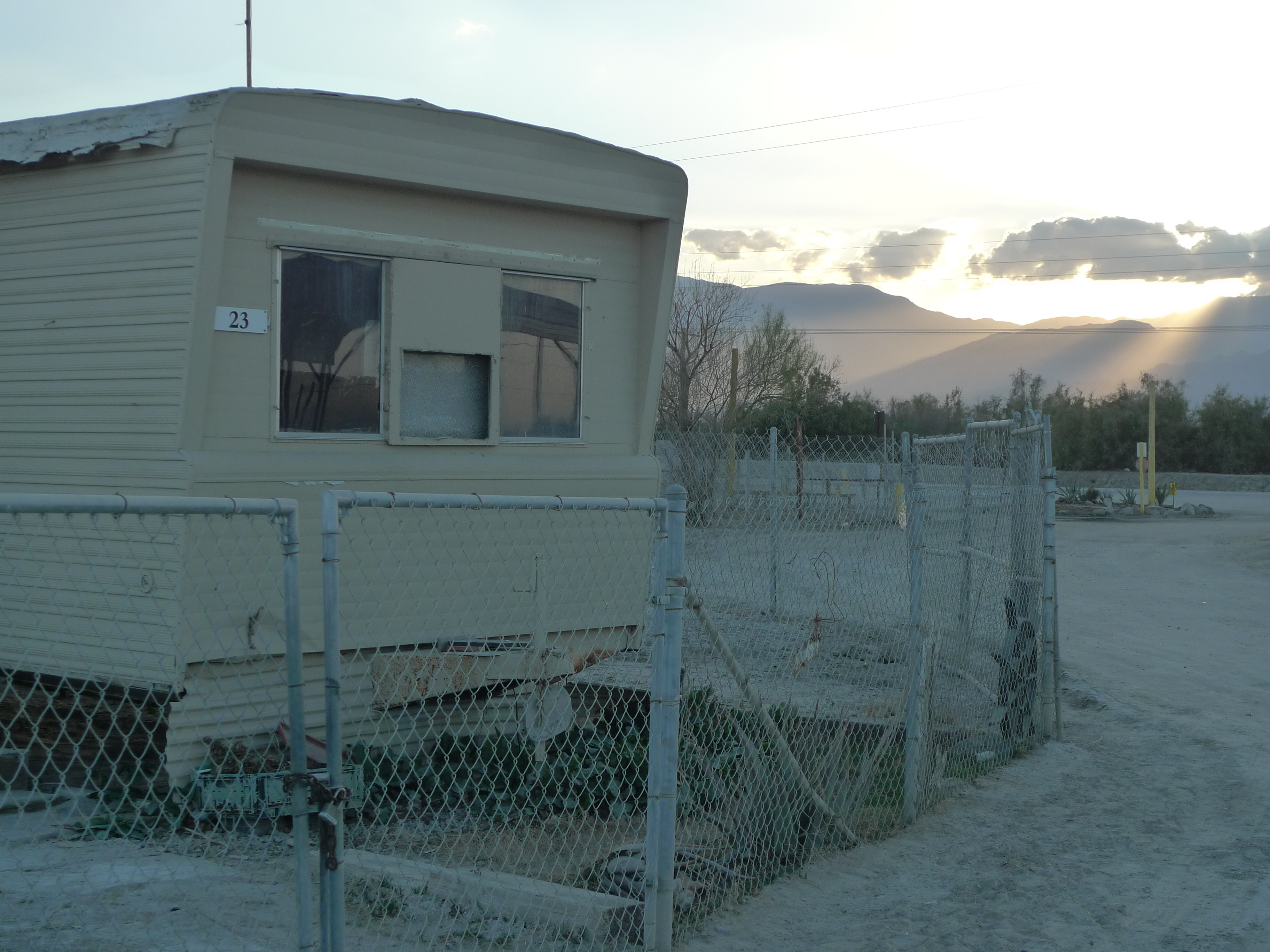 Caption: Mobile home park in Eastern Coachella., Credit: Lisa Morehouse