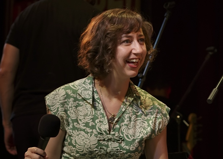 Caption: Actress and Comedian Kristen Schaal, Credit: Jennie Baker for Live Wire!