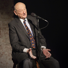 Caption: Ed Koch, Credit: Sarah Stacke