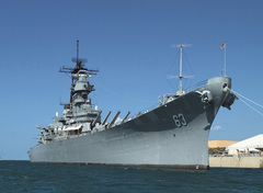 Caption: Battleship Missouri Memorial, Credit: USS Missouri Memorial Association