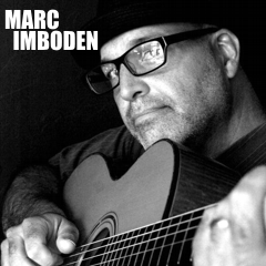 Caption: Singer / songwriter, Marc Imboden