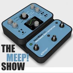 Caption: The Soundblox Pro Multiwave Bass Distortion, Credit: Source Audio
