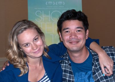 Caption: Brie Larson & Destin Cretton, San Francisco, CA 7/31/13, Credit: Andrea Chase
