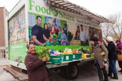 Caption: FoodShare Toronto's Mobile Good Food Market, Credit: foodshare.net