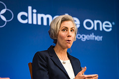Caption: Kassie Siegel, Director of the Climate Law Institute, Credit: Ed Ritger, Photographer