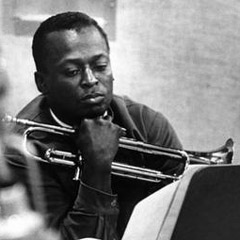 Caption: Jazz icon Miles Davis