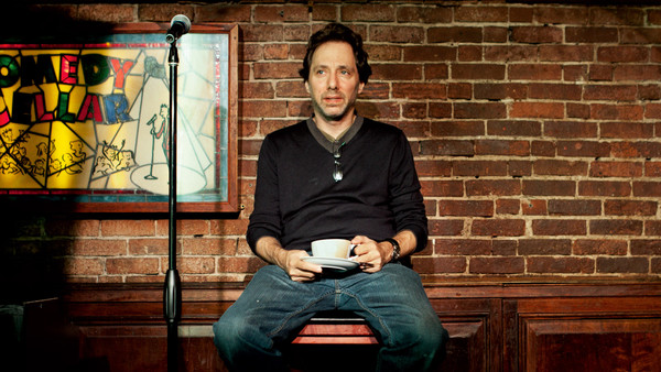 Caption: Owner of the Comedy Cellar in NYC, Noam Dworman