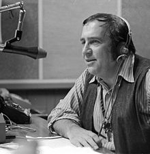Caption: Jean Shepherd at the WOR studio, Credit: Wikipedia