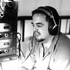 Caption: American folklorist Alan Lomax