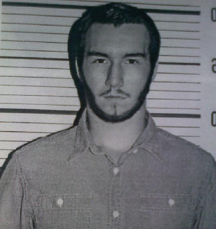 """Caption: Trent Selland played death row inmate Matthew Poncelet in Bishop Blanchet High School's production of """"Dead Man Walking."""""""