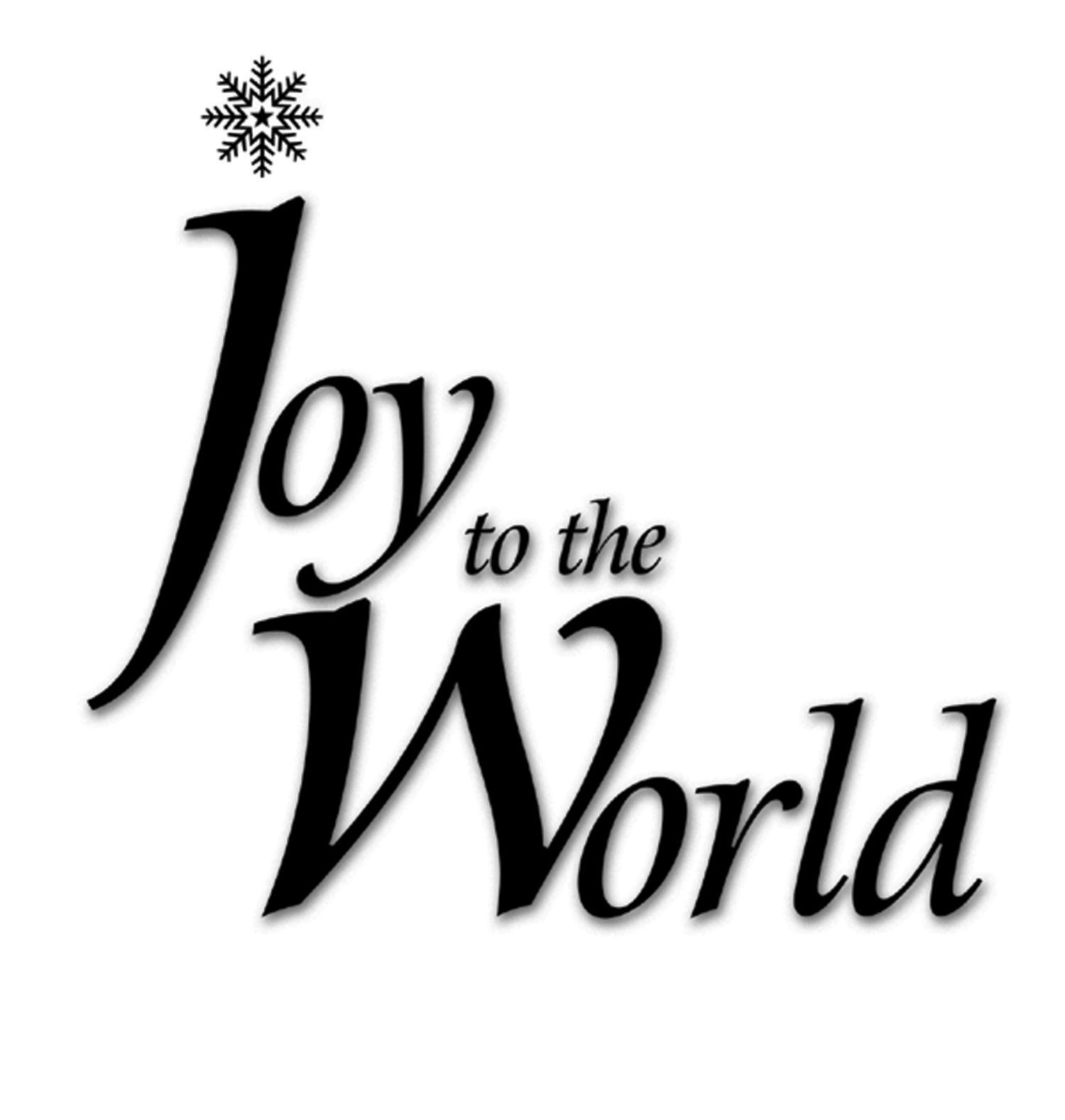 Caption: Joy to the World 2013
