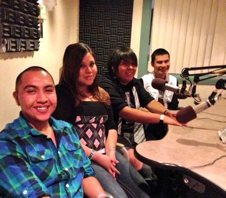 Caption: San Felipe Youth in Studio, Credit: Generation Justice
