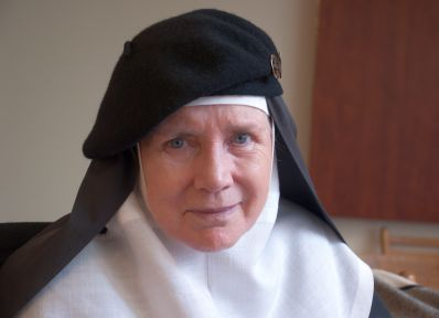 Caption: Mother Dolores Hart, San Francisco, CA 7/31/13, Credit: Andrea Chase