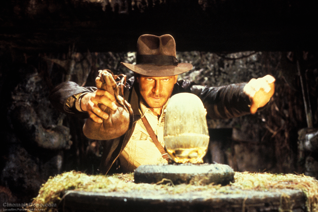 Caption: Harrison Ford in 'Raiders of the Lost Ark'