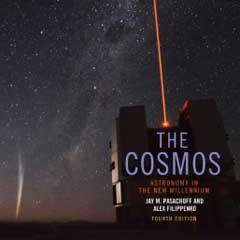 "Caption: New 4th Edition of ""The Cosmos"", Credit: Cambridge University Press"