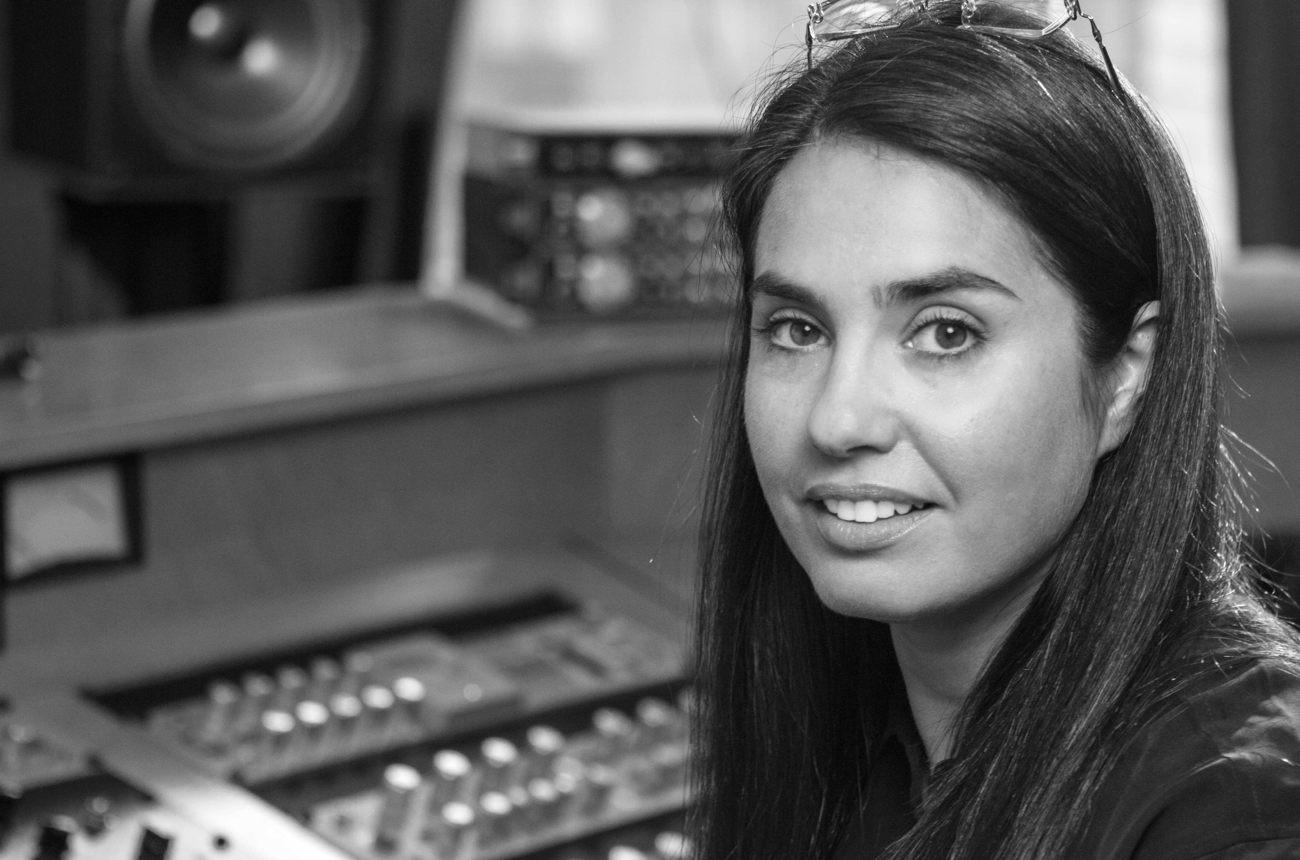 Caption: Emily Lazar, Mastering Engineer, Credit: Jim Sullos