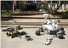 Caption: Family portrait of the Mars Rovers, Credit: JPL/NASA