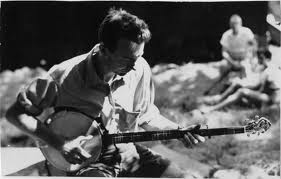 Caption: Pete Seeger