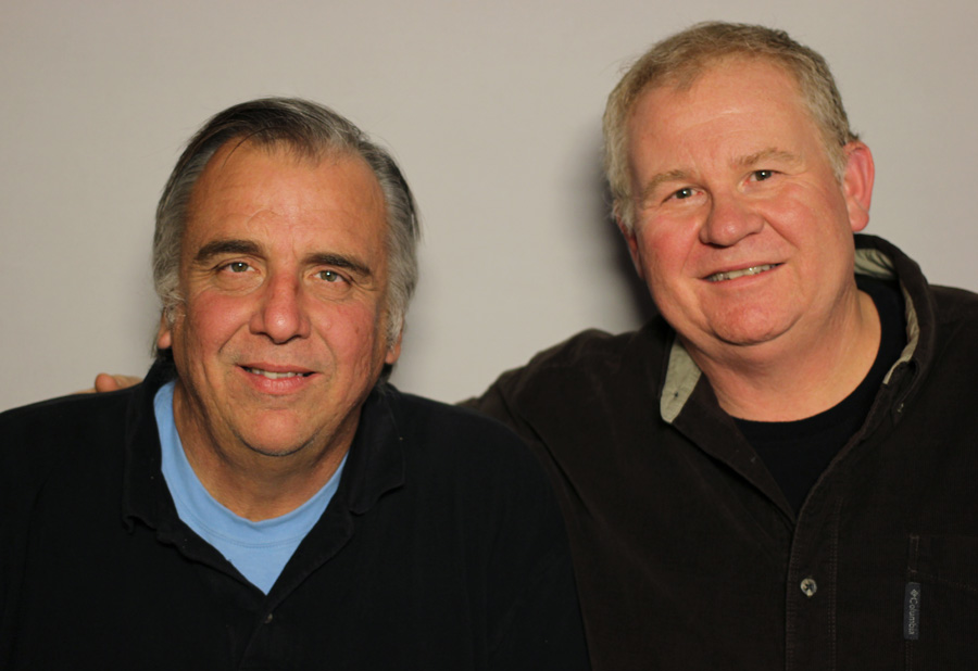 Caption: Jeff Lasater (L) and Drew Cartwright