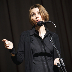 Caption: Elif Shafak, Credit: Sarah Stacke