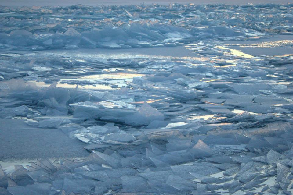 Caption: Lake Superior Ice, Credit: courtesy Don Davison