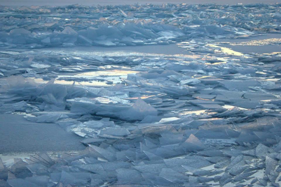 Caption: Lake Superior Ice, Credit: courtesy Don Davison