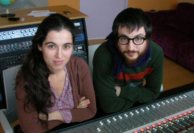 Caption: Silvia & Raul