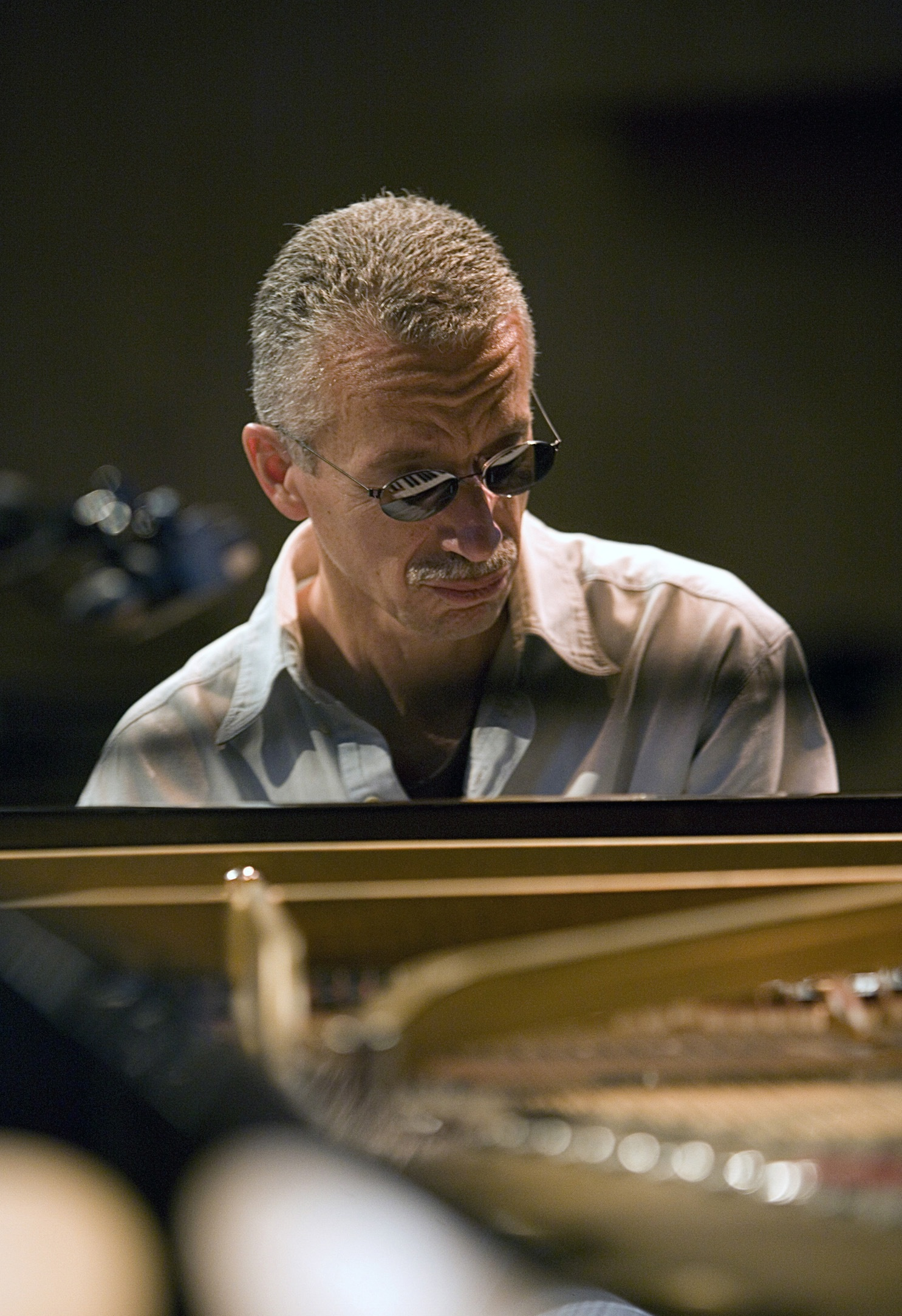 Caption: Keith Jarrett, Credit: Rose Anne Colavito