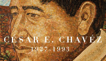 Caption: Cesar Chavez, Credit: Recuerda a Cesar Chavez Committee