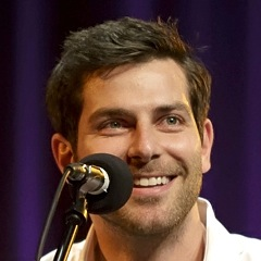 Caption: Actor David Giuntoli, Credit: Jennie Baker for Live Wire Radio