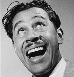 Caption: Jazz funnyman Cab Calloway
