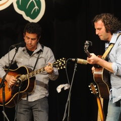Caption: AJ Croce makes his debut on the WoodSongs Stage.