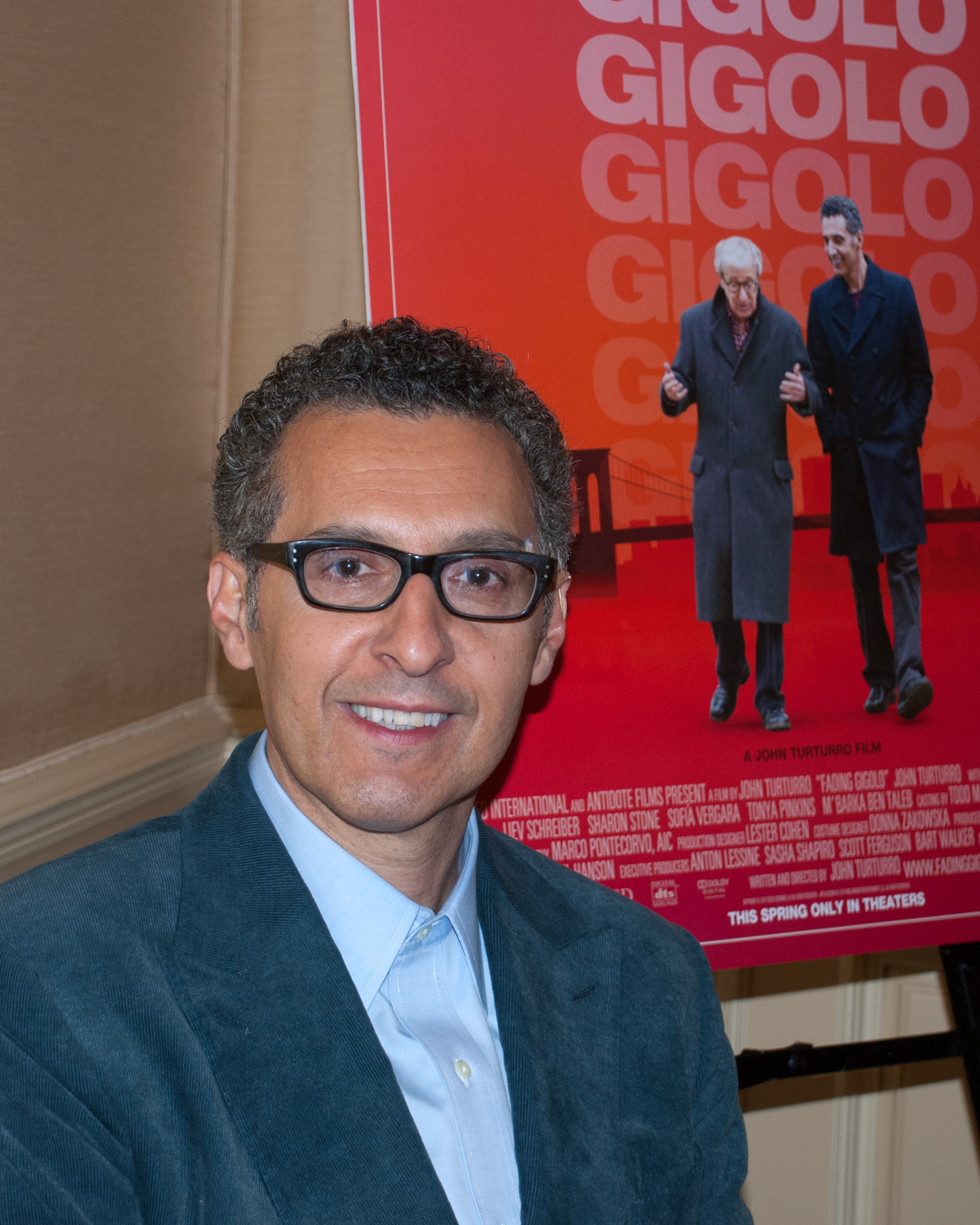 Caption: John Turturro, San Francisco, CA 4/7/14, Credit: Andrea Chase