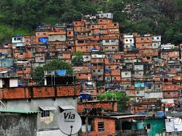 Caption: A Favela in Rio