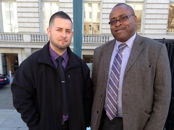 Caption: Deputies Joe Crittle and Diego Perez, Credit: Ninna Gaensler-Debs