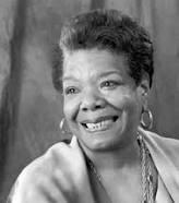 Caption: Maya Angelou