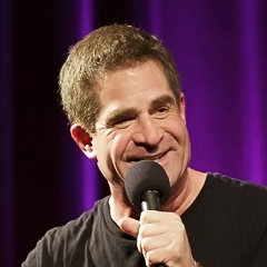 Caption: Comedian Todd Glass, Credit: Jennie Baker for Live Wire Radio