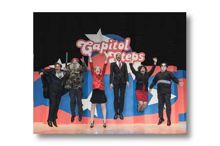 Caption: The Capitol Steps, Credit: Mike Reyna
