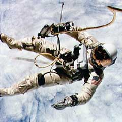 Caption: Gemini Spacewalker, Credit: NASA