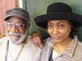 Caption: Lila Ammons and Dean Brewington of the Lila Ammons Jazz Quintet
