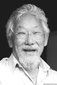 Caption: David Suzuki