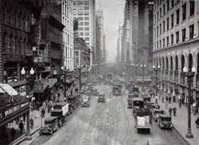 Caption: The Windy City 1920s