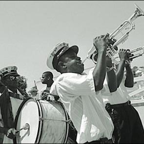 Caption: Tremé Brass Band