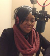 Caption: Danielle Motindabeka in the WNYC studio
