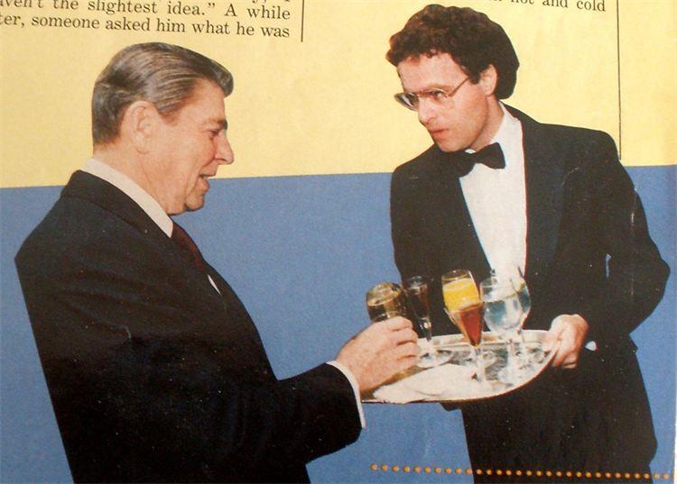 Caption: Alan DeValerio was a White House butler for Presidents Carter and Reagan., Credit: Alan DeValerio