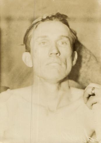 Caption: George Birdwell deceased after Boley shooting, 1932, Credit: Courtesy Bob Birdwell