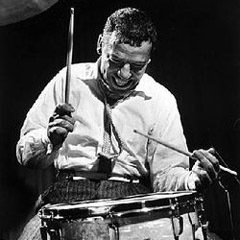 "Caption: The ""greatest drummer i n the world,"" Buddy Rich"